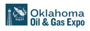 We hope to see you at the Oklahoma Oil & Gas Expo this week!